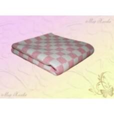 Одеяло байковое клетка (Шуя) 140Х100